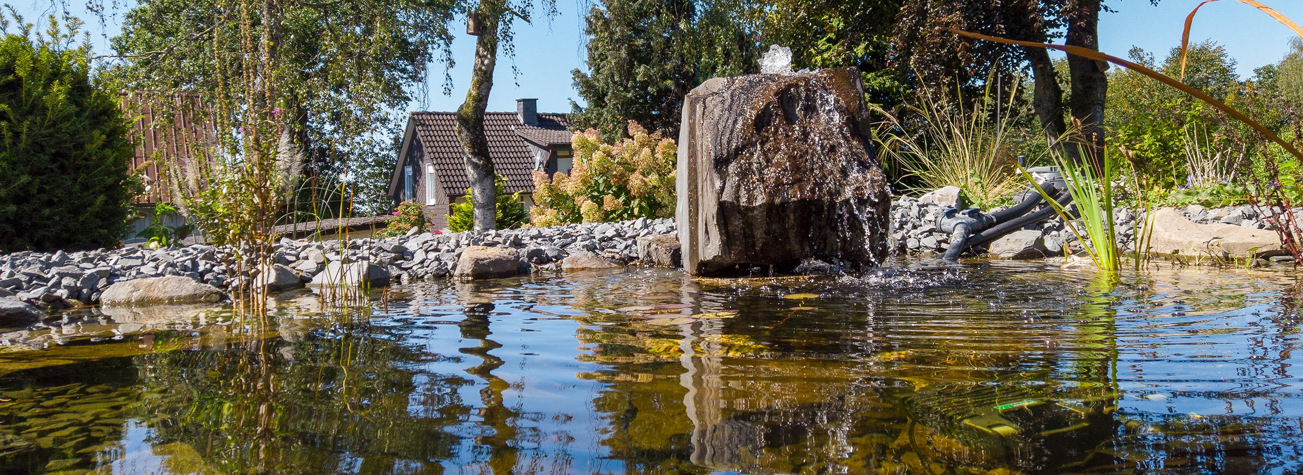 Nohl Galabau - Wasser im Garten